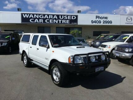 2012 Nissan Navara D22 Series 5 ST-R (4x4) White 5 Speed Manual Dual Cab Pick-up Wangara Wanneroo Area Preview