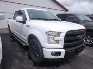 2015 Ford F-150 LARIAT 4X4 SUPERCREW LEATHER