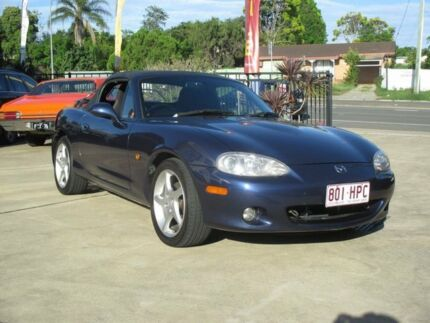 2000 Mazda MX-5 MX5 Metallic Blue 5 Speed Manual Roadster Birkdale Redland Area Preview