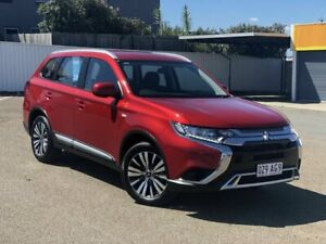 2019 Mitsubishi Outlander ZL MY19 ES AWD Red 6 Speed Constant Variable Wagon Chermside Brisbane North East Preview