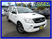 2010 Toyota Hilux KUN16R MY11 Upgrade SR White 5 Speed Manual Dual Cab Pickup Penrith Penrith Area Preview