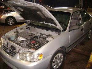 PARTING OUT 2001 TOYOTA COROLLA