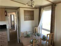 stunning 4 berth static holiday with site fees inc. 2020 in Ayrshire