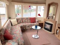 Cheap Static Caravan for sale , Fishing Lake , Sea views , swimming pool and flume!! dog friendly