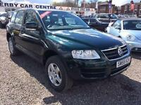 2006 VOLKSWAGEN TOUAREG 2.5 TDI SE 4 X 4 DIESEL AUTOMATIC SERVICE HISTORY