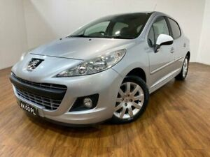 2010 Peugeot 207 MY10 Sportium Silver 4 Speed Automatic Hatchback Kingsgrove Canterbury Area Preview