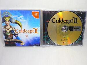 Sega-DreamCast-CULDCEPT-II-2-DC-Import-Japanese-ver-Video-Game-dc