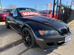 1997 BMW Z3 E36-7 Black 5 Speed Manual Roadster Maidstone Maribyrnong Area Preview