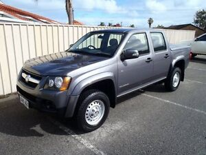 2010 Holden Colorado RC MY10 LX (4x2) Charcoal 4 Speed Automatic Crew Cab P/Up Albert Park Charles Sturt Area Preview