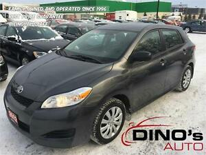 2012 Toyota Matrix | $58 Weekly OAC $0 Down / Automatic / Cruise