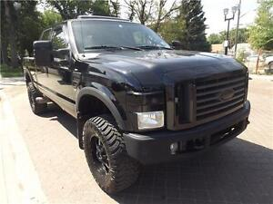LIFTED 2008 Ford Super Duty F-350 | LOADED  DIESEL SUPERCREW!