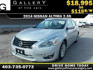 2014 Nissan Altima 2.5 $119 BI-WEEKLY APPLY NOW DRIVE NOW