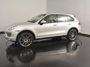 2013 Porsche Cayenne 92A MY13 Diesel Tiptronic Silver 8 Speed Sports Automatic Wagon Victoria Park Victoria Park Area Preview