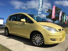 2004 Mitsubishi Colt RG LS Yellow Continuous Variable Hatchback Windsor Hawkesbury Area Preview