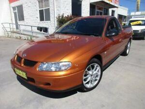 2001 Holden Ute VU Orange 4 Speed Automatic Utility