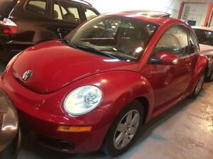 2007 Volkswagen New Beetle GLS Auto, Sunroof,Leather/Heated Seat