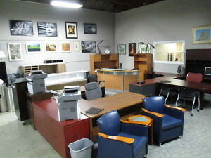 Office Furniture Open To The Public Large Selection Used and New