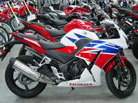 New HONDA CBR with ABS $136 a month, BillsCycle