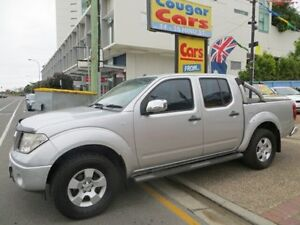 2007 Nissan Navara D40 ST-X (4x4) Silver 6 Speed Manual Dual Cab Pick-up Southport Gold Coast City Preview