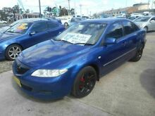 2003 Mazda 6 GG Classic Blue 5 Speed Manual Hatchback Mount Lewis Bankstown Area Preview