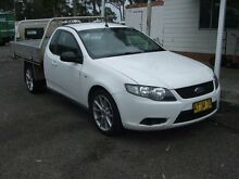 2009 Ford Falcon FG (LPG) White 4 Speed Auto Seq Sportshift Cab Chassis Kanwal Wyong Area Preview