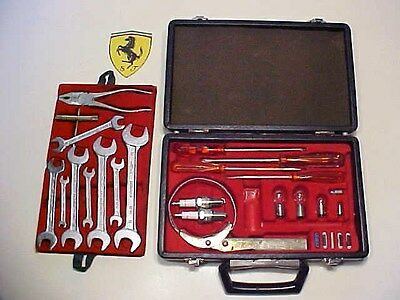 Ferrari 365 Tool Kit_Briefcase_Oil Filter Wrench _Pliers_Screwdrivers 3652+2 EO