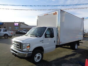 2016 FORD E-450 16 FT CUBE VAN!!! FORD FACTORY WARRANTY!!!