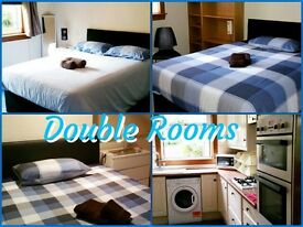 WEEKLY - MONTHLY LET - DOUBLE ROOMS IN 4 BEDROOM GARDEN HOUSE - NO MINIMUM STAY - FREE OPTIC FIBER