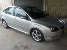 2005 Ford Focus LS Zetec Silver 4 Speed Automatic Hatchback Edgeworth Lake Macquarie Area Preview