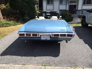1969 Chevrolet Impala Convertible North Shore Greater Vancouver Area image 4