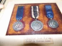 WW2 German Framed Medals and Ribbons