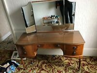 Dressing Table (mirror needs new attachment underneath to hold it in place)