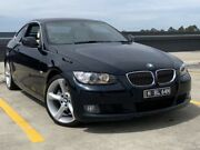 2010 BMW 330d E92 MY10.5 Steptronic Frozen Black 6 Speed Sports Automatic Coupe Blacktown Blacktown Area Preview