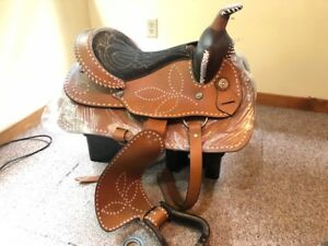 16 inch Western Saddle - New/Never Used