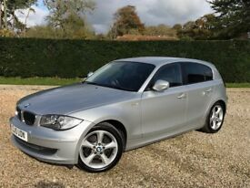 BMW 116i M Sport. June 2010. 2.0L Manual. Silver/black. Full hisory. MOT to May 2019