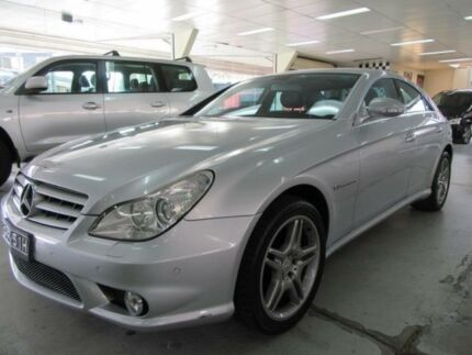 2005 Mercedes-Benz CLS 219 55 AMG Silver 5 Speed Auto Touchshift Coupe