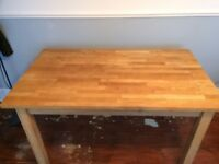 Habitat solid table/desk in good condition