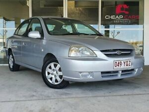 2005 Kia Rio MY04 LS Silver 4 Speed Automatic Sedan Brendale Pine Rivers Area Preview