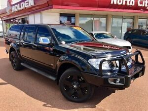 2014 Nissan Navara D40 S5 MY12 ST-X 550 Black 7 Speed Sports Automatic Utility Glendalough Stirling Area Preview