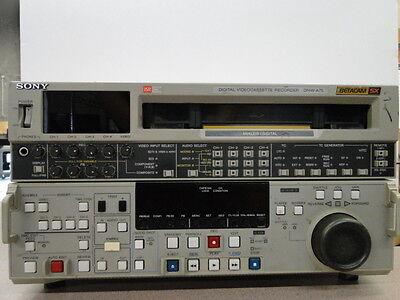 Sony DNW-A75 Betacam SX Professional Digital Video Cassette Recorder (#W)