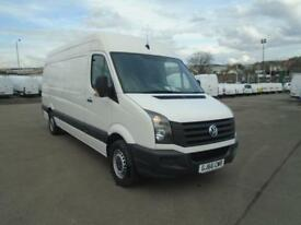 Volkswagen Crafter CR35 LWB 2.0 TDI 136PS HIGH ROOF EURO 5 DIESEL MANUAL (2016)