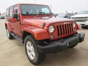 2014 Jeep Wrangler Unlimited Sahara 4x4~ EZ Finance ~ $187 B/W