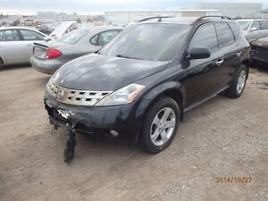 NISSAN MURANO (2003/2007/ FOR PARTS PARTS PARTS ONLY)