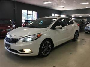 2014 Kia Forte SX*FULLY LOADED*NAV*BACK-UP CAM*LEATHER*ROOF*