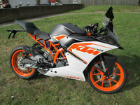 KTM 125 124.7cc RC 125 ABS (2016) Supersport 2016MY RC 125