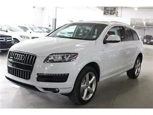2013 Audi Q7 3.0T S LINE PKG/NAVIGATION/PANORAMIC ROOF