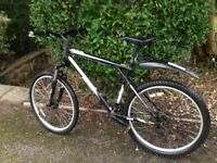Men's mountain bike, GT Avalanche 3.0 Black, shimano 24 gears, regularly serviced, 51cm black frame