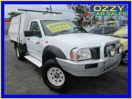 2006 Nissan Navara D22 DX (4x4) White 5 Speed Manual 4x4 Cab Chassis Minto Campbelltown Area Preview
