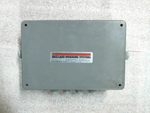 """Rice Lake Weighing Systems UJB-4 EL-210 4 Cell Junction Box 10"""" x 6.5"""" x 3"""""""