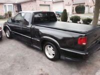 Black 2000 Chevrolet S-10 Extreme Truck SAFETY + E-TESTED